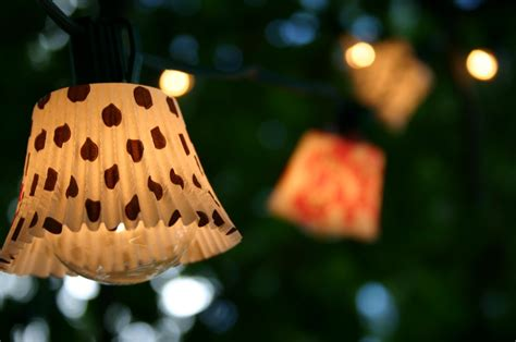 13 Ultimate Diy Outdoor Lighting Inspirations Blissfully Cupcake String Lights
