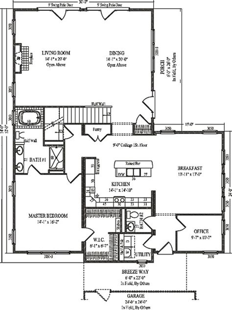 lyndon by wardcraft homes two story floorplan