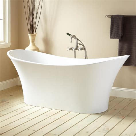 slipper tub 72 quot acrylic slipper tub bathtubs bathroom