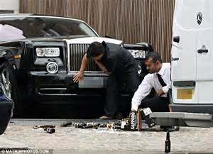 Simon Cowell Rolls Royce Simon Cowell S 163 1million Happy Birthday To Himself And The
