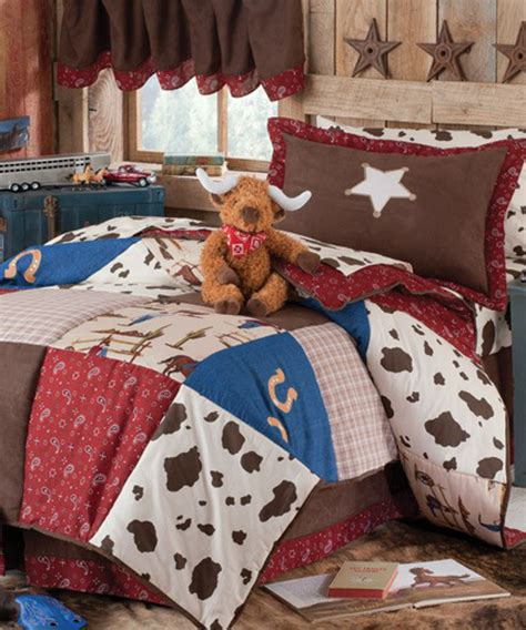 Set Coboy cowboy comforter western cowboy collection