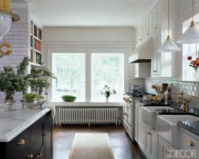 all white dream kitchen elle decor made by girl