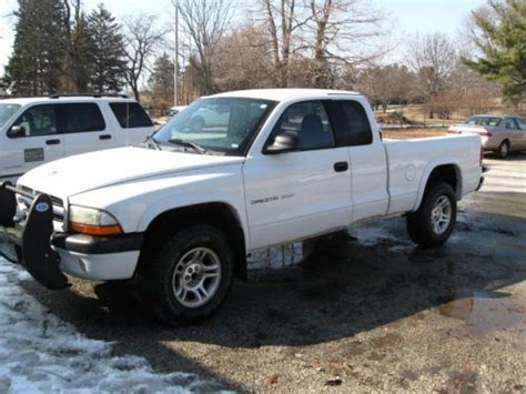 dodge dakota 2 door purchase used 2002 dodge dakota sport extended cab
