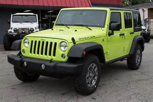 2016 jeep wrangler rubicon unlimited hyper green