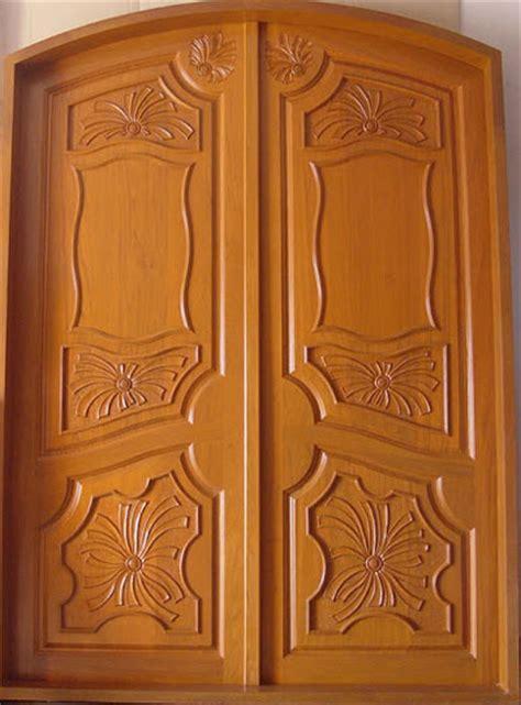 Model wooden front door double door designs wood design ideas