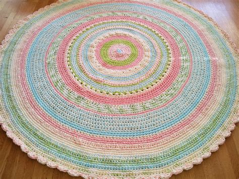 Large Custom Made Laurie S Perfect Pastel Nursery Rug Nursery Rugs