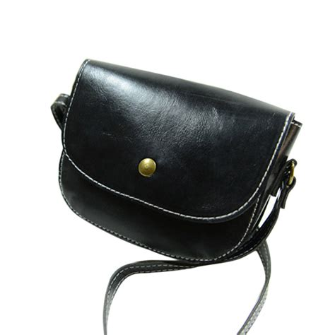 Small Leather Chain Bag by Retro Messenger Bags Chain Shoulder Bag Leather