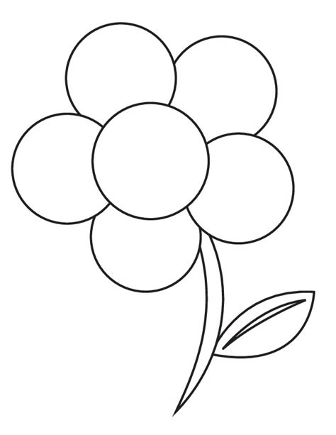 coloring pictures of large flowers 25 flower coloring pages to color