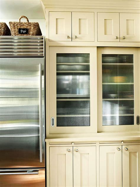Types Of Glass For Kitchen Cabinets Glass Front Cabinetry