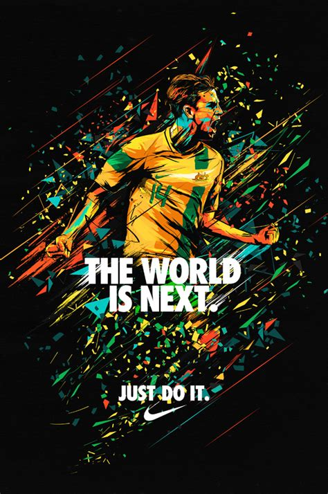 Nike. Brett Holman Poster