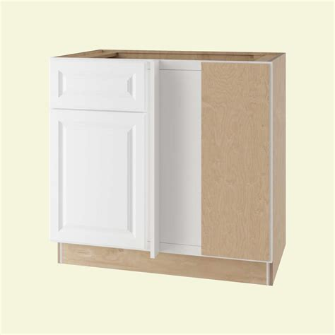 blind corner base cabinet home decorators collection assembled 42x34 5x24 in