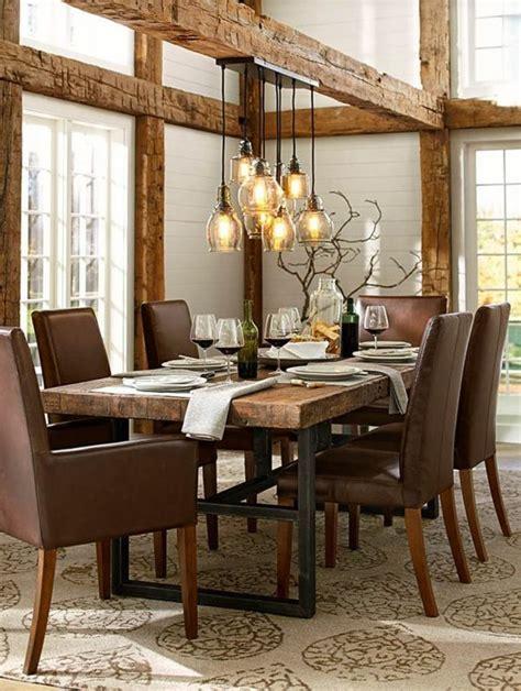 Rustic Dining Room Design by Esszimmer Einrichten Landhausstil Esstisch Rustikal