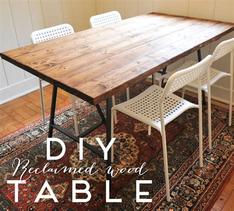 diy table a new bloom diy reclaimed wood dining table dining room