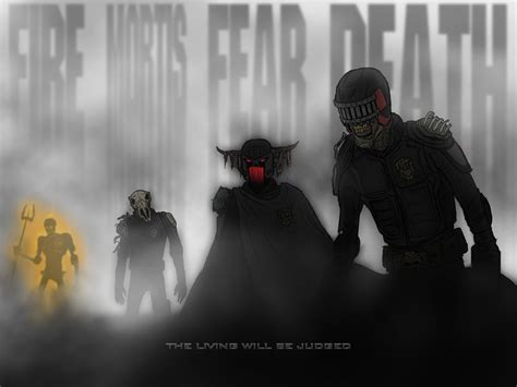 dark judges wallpaper the dark judges by niteowl94 on deviantart