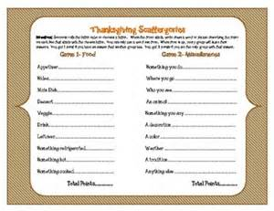 thanksgiving scattergories thanksgiving student and inspiration on pinterest