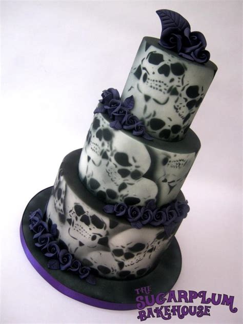 Hochzeitstorte Totenkopf by Skull Wedding Cake Www Imgkid The Image Kid Has It