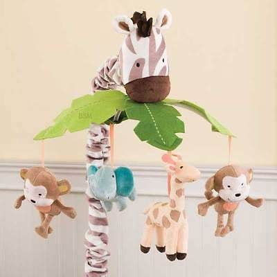 jungle animals monkey elephants and giraffe baby boy