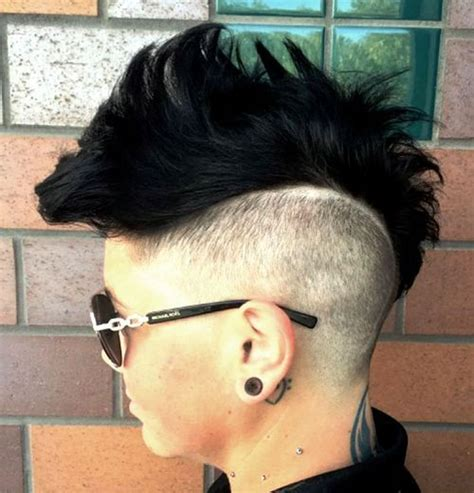 edgy haircuts san francisco 1000 ideas about mohawk hairstyles for women on pinterest