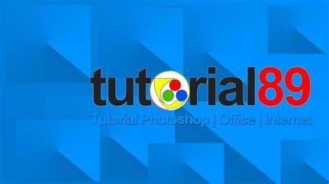 tutorial buat logo youtube cara membuat logo dengan photoshop video tutorial for you