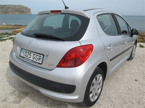 peugeot spain peugeot 207 1 4 for sale in javea costa blanca spain