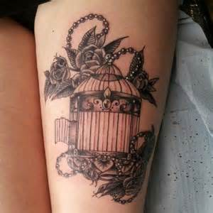 vintage birdcage tattoo google search tattoos