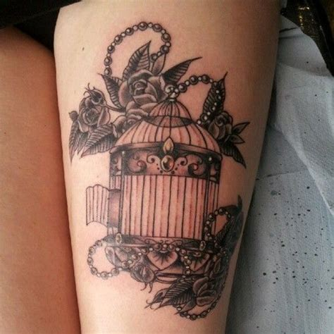 vintage sleeve tattoo designs vintage birdcage search tattoos