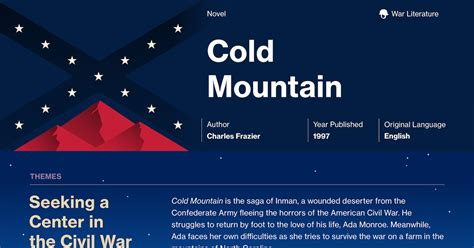 Cold Mountain Essay by Odyssey Cold Mountain Essay