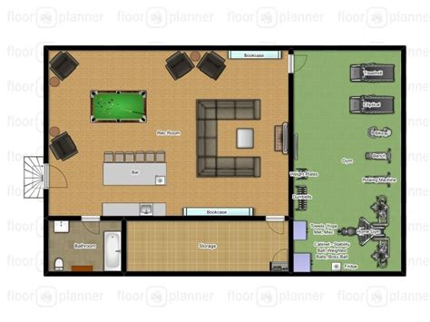 floorplanner dream house wall maxx 1000 images about dream basement home gym library on