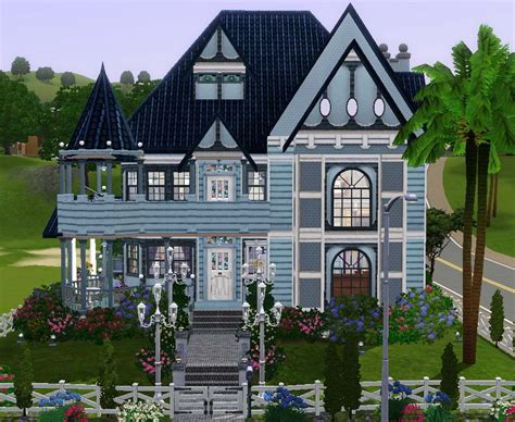 Mansion Home Floor Plans Mod The Sims Coastal Shores Victorian
