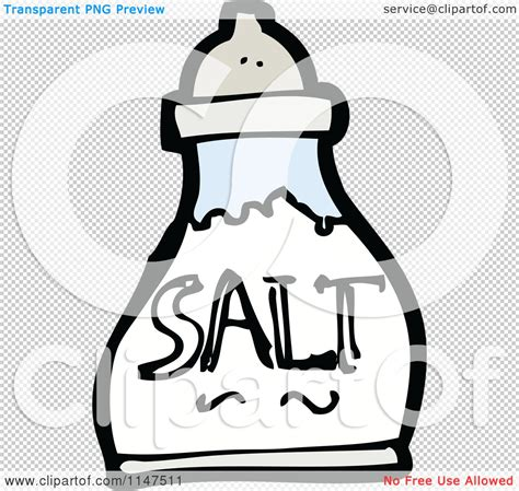 shaker clipart cartoon of a salt shaker royalty free vector clipart by