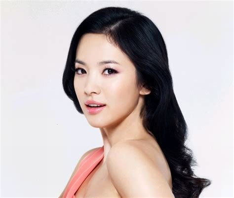 model rambut song hye kyo model rambut ala korea versi si cantik song hye kyo