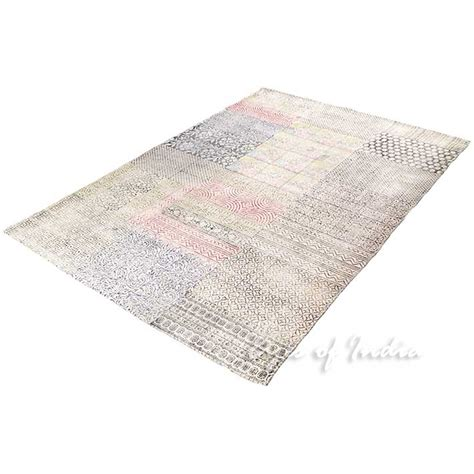 flat weave cotton area rugs 4 x 6 ft colorful white cotton printed area accent dhurrie rug flat weave woven