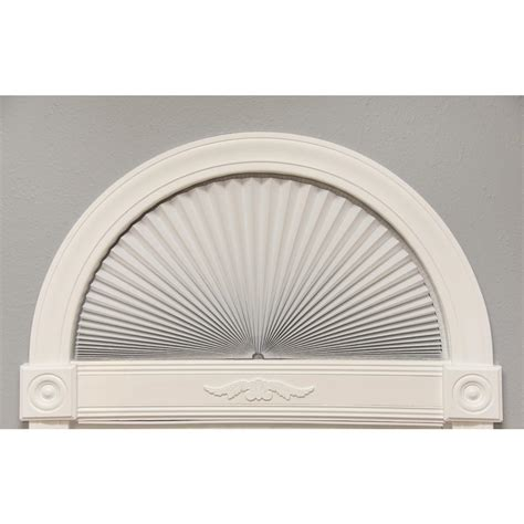 light blocking arch window shade redi shade original white light blocking fabric arch