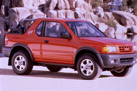 small engine maintenance and repair 2000 isuzu amigo electronic valve timing 1998 03 isuzu amigo rodeo sport consumer guide auto