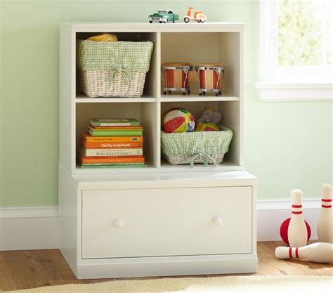 kid toy storage cameron cubby drawer base pottery barn kids