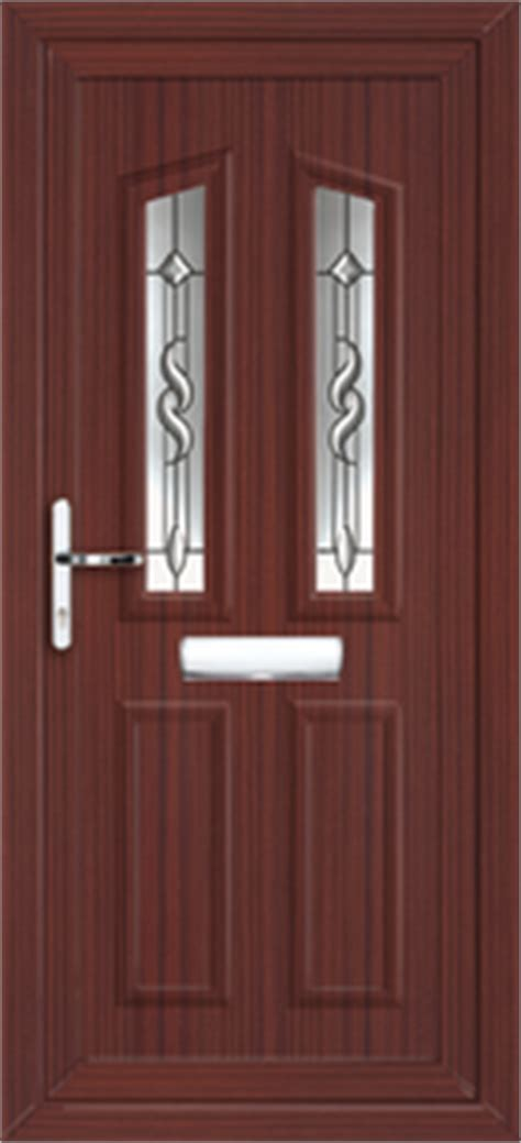 Brown Upvc Front Door Upvc Front Doors With Sidelights