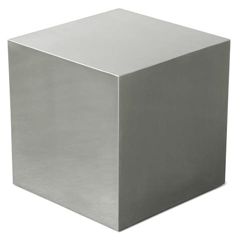 modern metal end tables