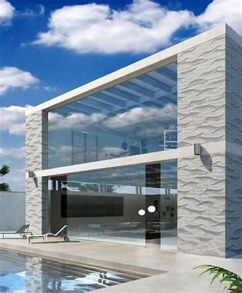 3 Dimensional Wall Tiles for Outdoor by Artistic Tile