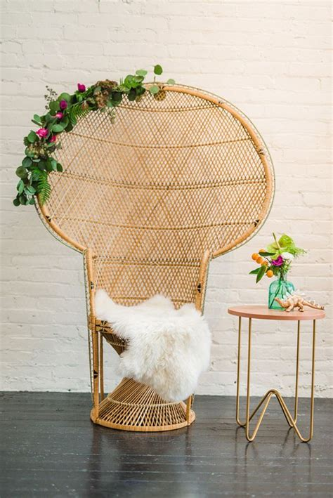 Wicker Baby Shower Chair by 17 Best Ideas About Peacock Chair On Bohemian
