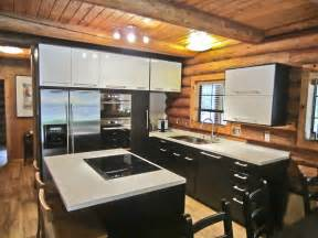 Modern Kitchen Furniture Ideas Tremendous Oak Ceiling Designs Black And White Ikea Modern Kitchen Cabinets And Log Wood