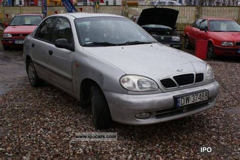 all car manuals free 2000 daewoo lanos navigation system 2000 daewoo lanos sedan car photo and specs