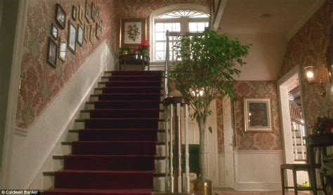 stairs in house mansion featured in home alone looks radically different