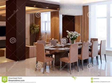 appartamento stile moderno appartamento nello stile moderno illustrazione di stock