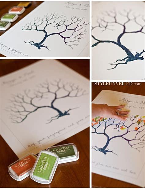 family tree thumbprint template finger print tree something blue dc s blue