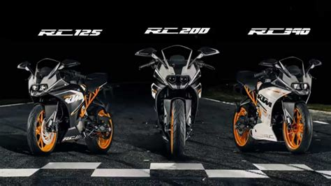 Ktm Duke Rc 125 Price In India All New And Ready To Race Ktm Rc 125 Rc 200 Rc 390