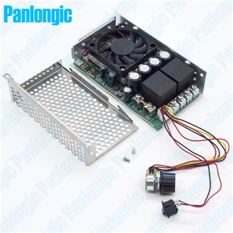 pwm 12v dc motor controller aliexpress buy 10 50v 100a 5000w programable