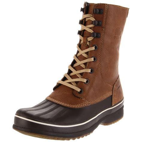 sorel boot sorel mens kitchner high boot in brown for