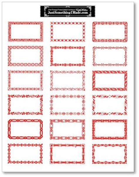 printable gift tag borders 15 best doodle frames border labels images on pinterest