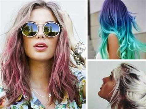 tintes de cabello color gris ap 250 ntate a la moda del pelo te 241 ido de colores rosa verde