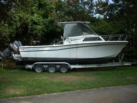 new boats for sale mobile al 1987 grady white sailfish 25 fishing boat for sale in